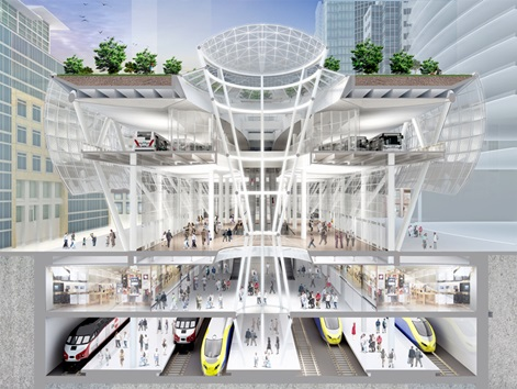 Transbay Transit Center Build